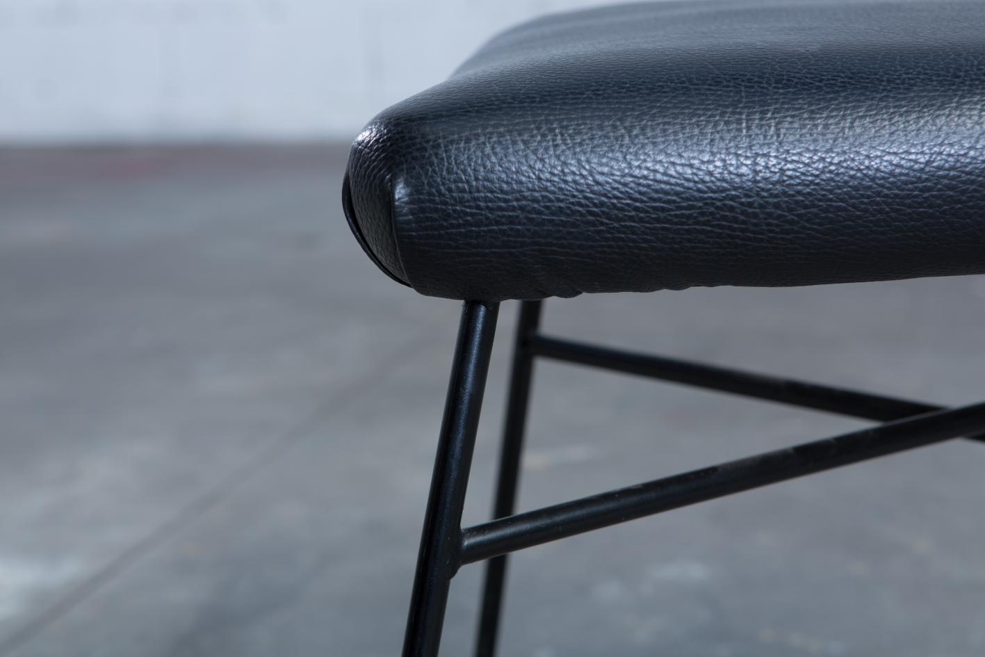 Elettra chairs - BBPR for Arflex - Iron legs