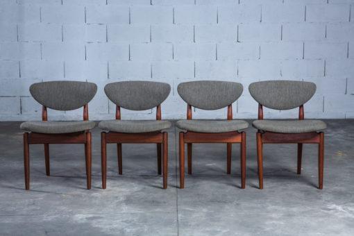 NV 108 - Fj55 chairs - Finn Juhl for Niels Vodder