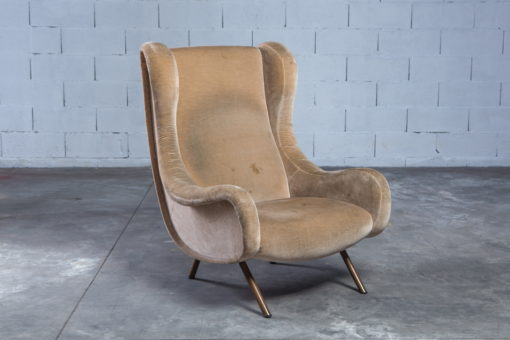 Velvet Senior lounge chair - Marco Zanuso for Arflex