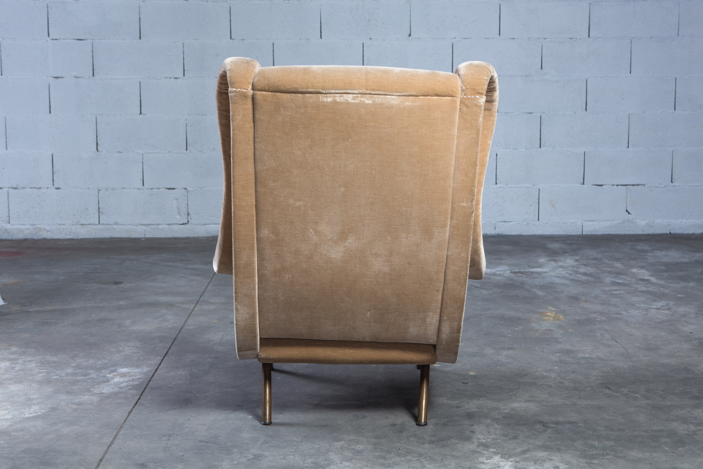 Senior lounge chair - Marco Zanuso for Arflex - Back view
