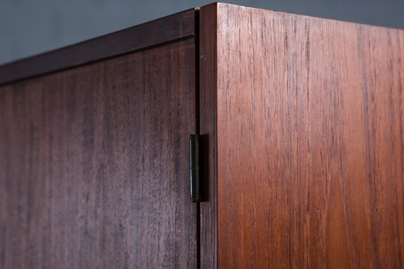 Wardrobe KU14 by Cees Braakman for Pastoe - Wood detail