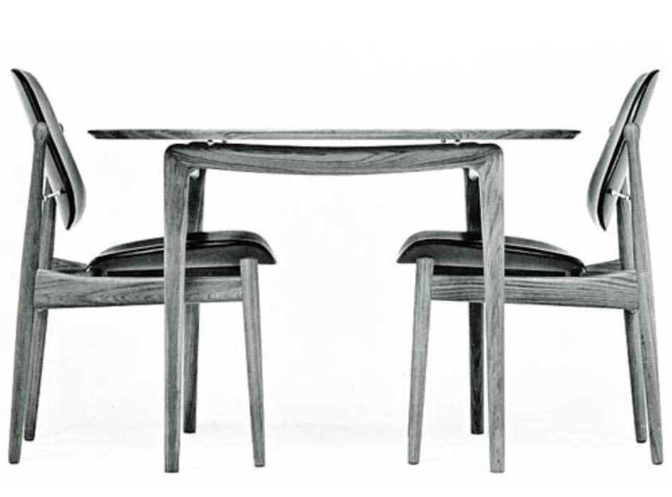 FD 12/50 round table - Peter Hvidt Orla Molgaard - France & Daverkosen - Historic picture