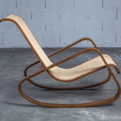 Dondolo rocking chair by Luigi Crassevig 1970s