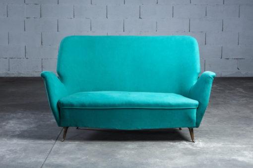 Two seater sofa Isa Bergamo 1950s