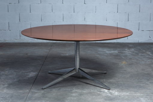 Conference or dining round table Florence Knoll 1960s