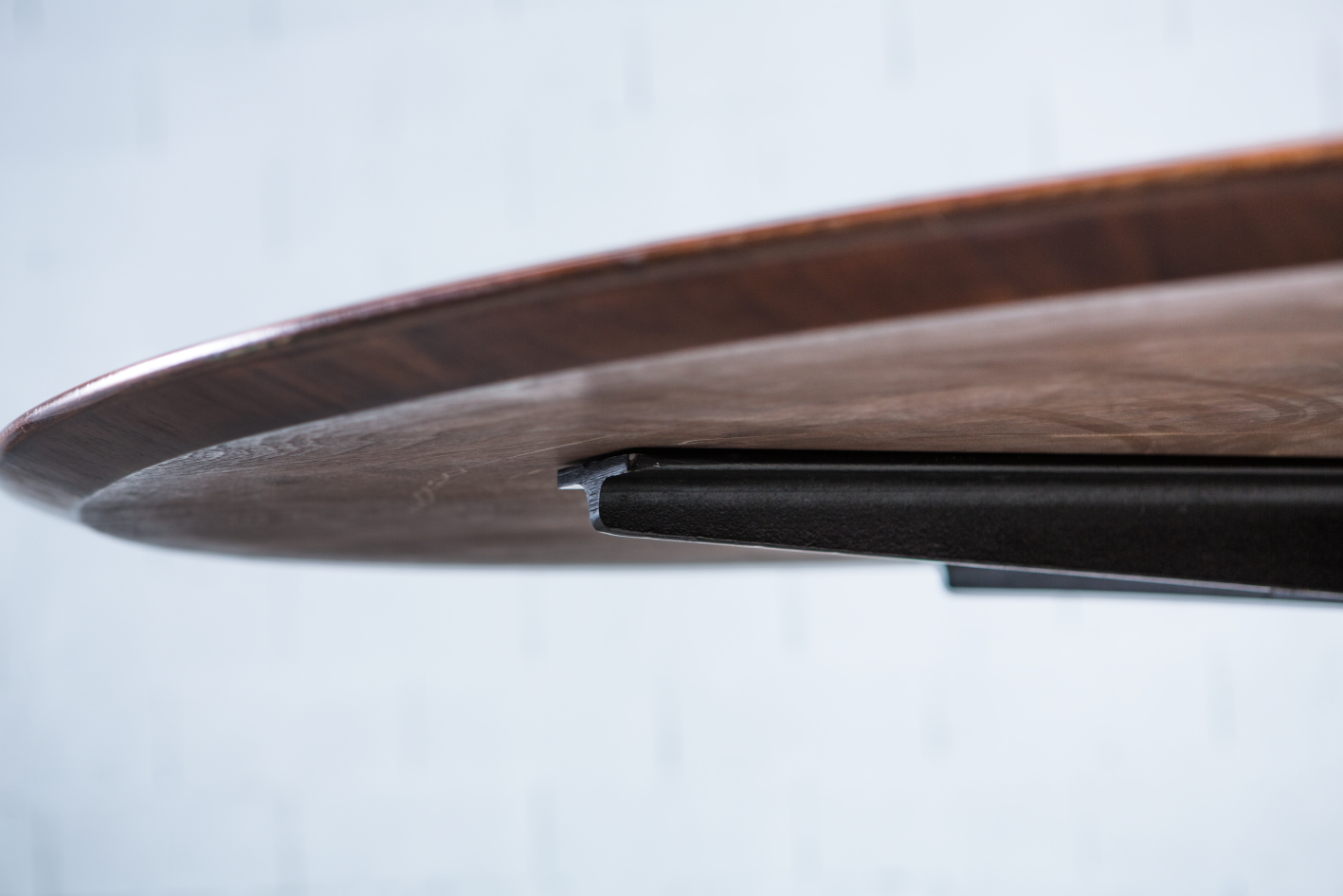Conference or dining round table Florence Knoll 1960s - Detail