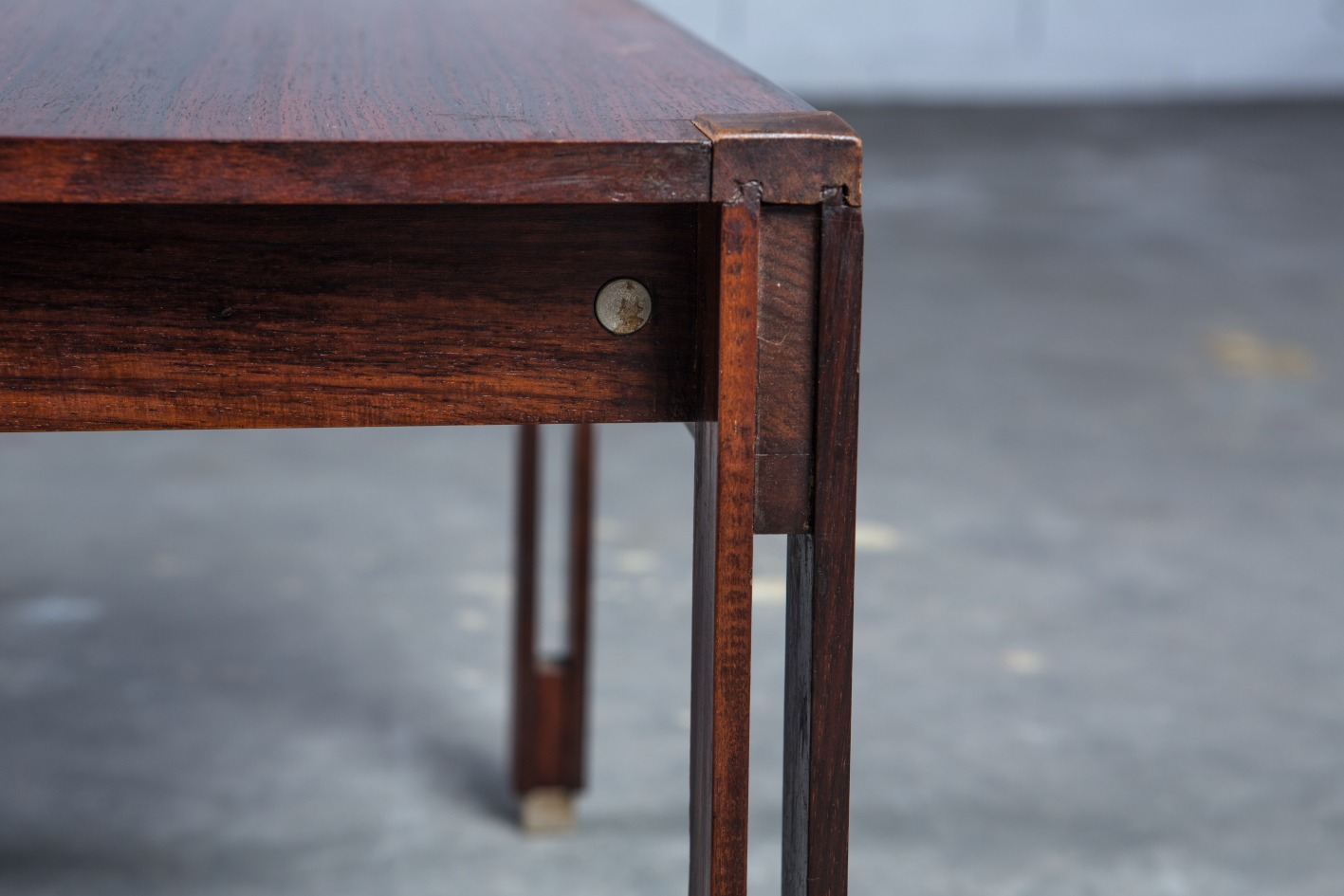 Low table with drawer - Ico Parisi for Mim - Detail