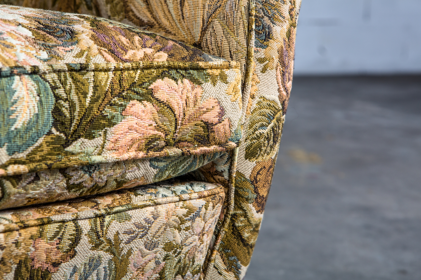 Armchairs Model 512 - Gio Ponti for Isa Bergamo - Cushion detail