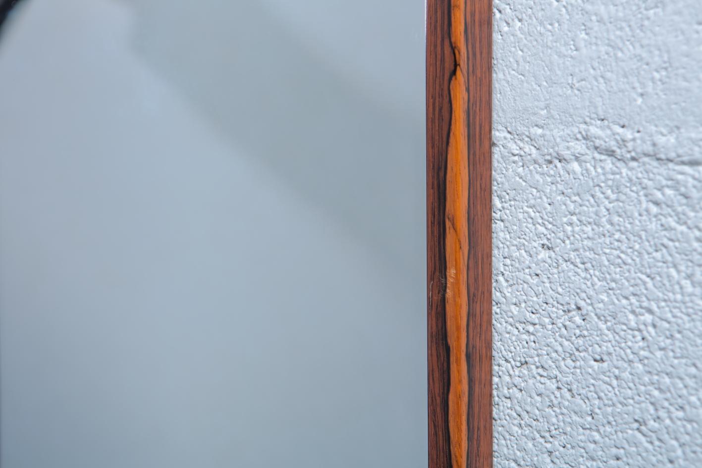 Rosewood Mirror by Uno & Östen Kristiansson for Luxus - Frame