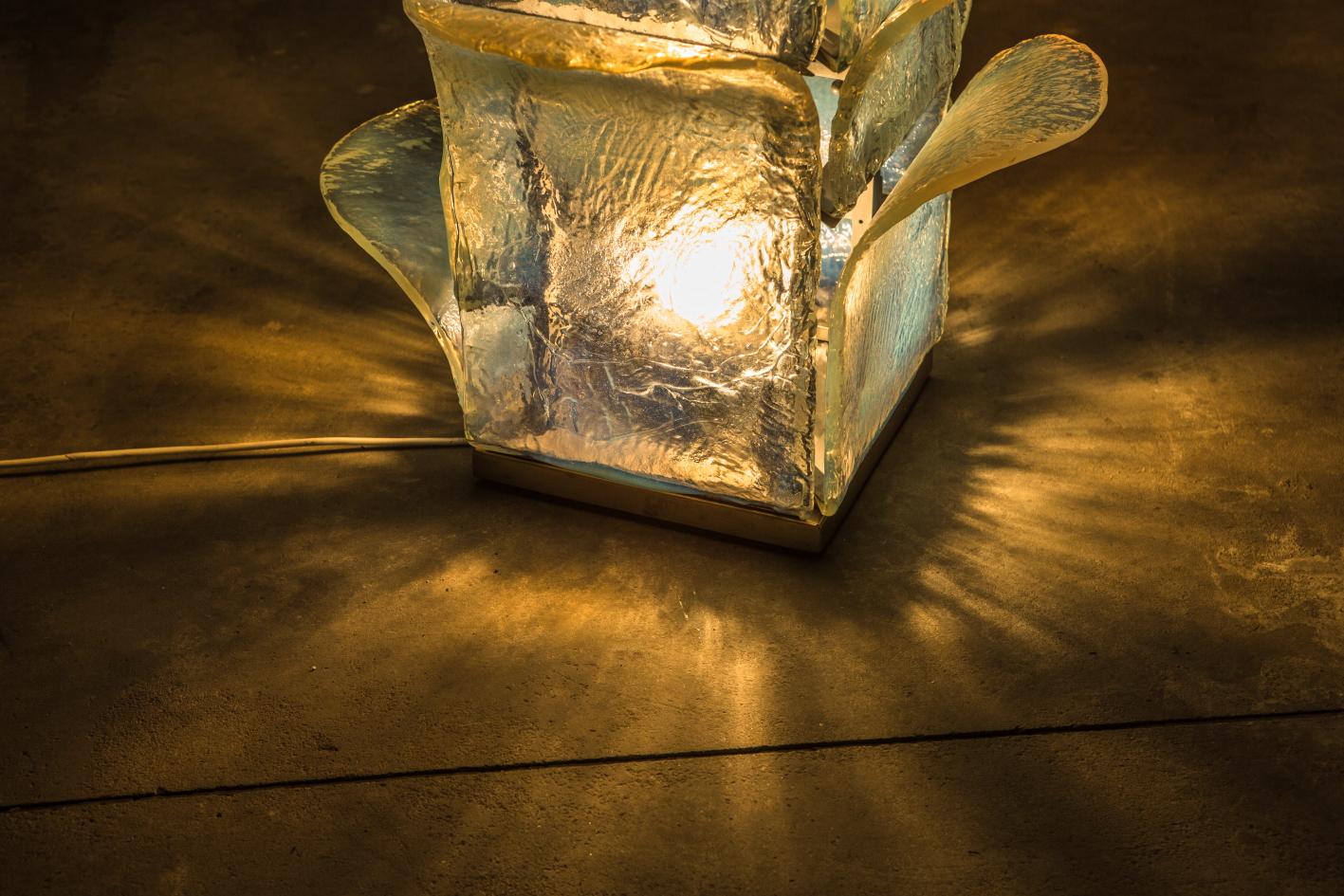 Floor lamp LT320 - Carlo Nason for Mazzega - Base detail