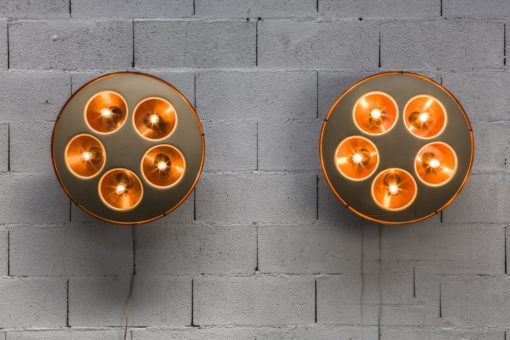 ceiling wall light ufo stilnovo model 1243