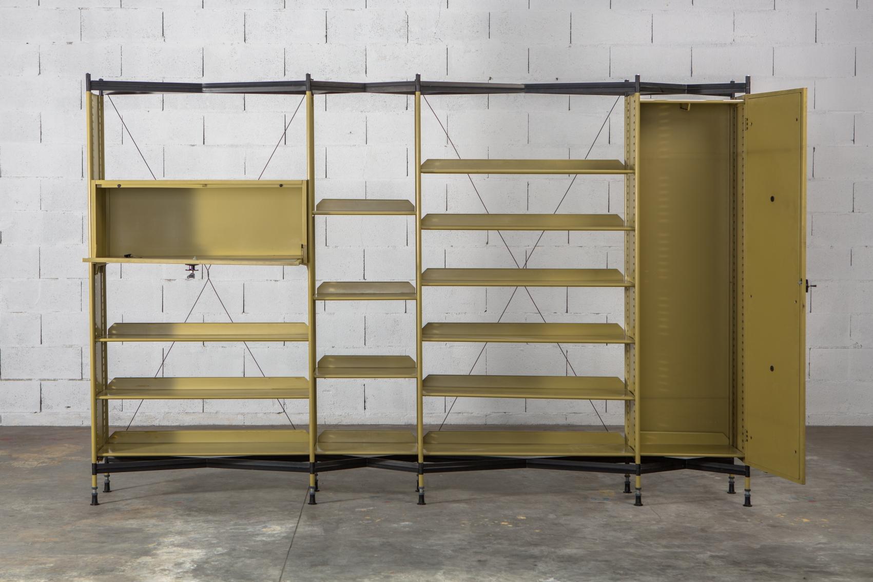 Olivetti ''Spazio'' Shelving System by B.B.P.R.