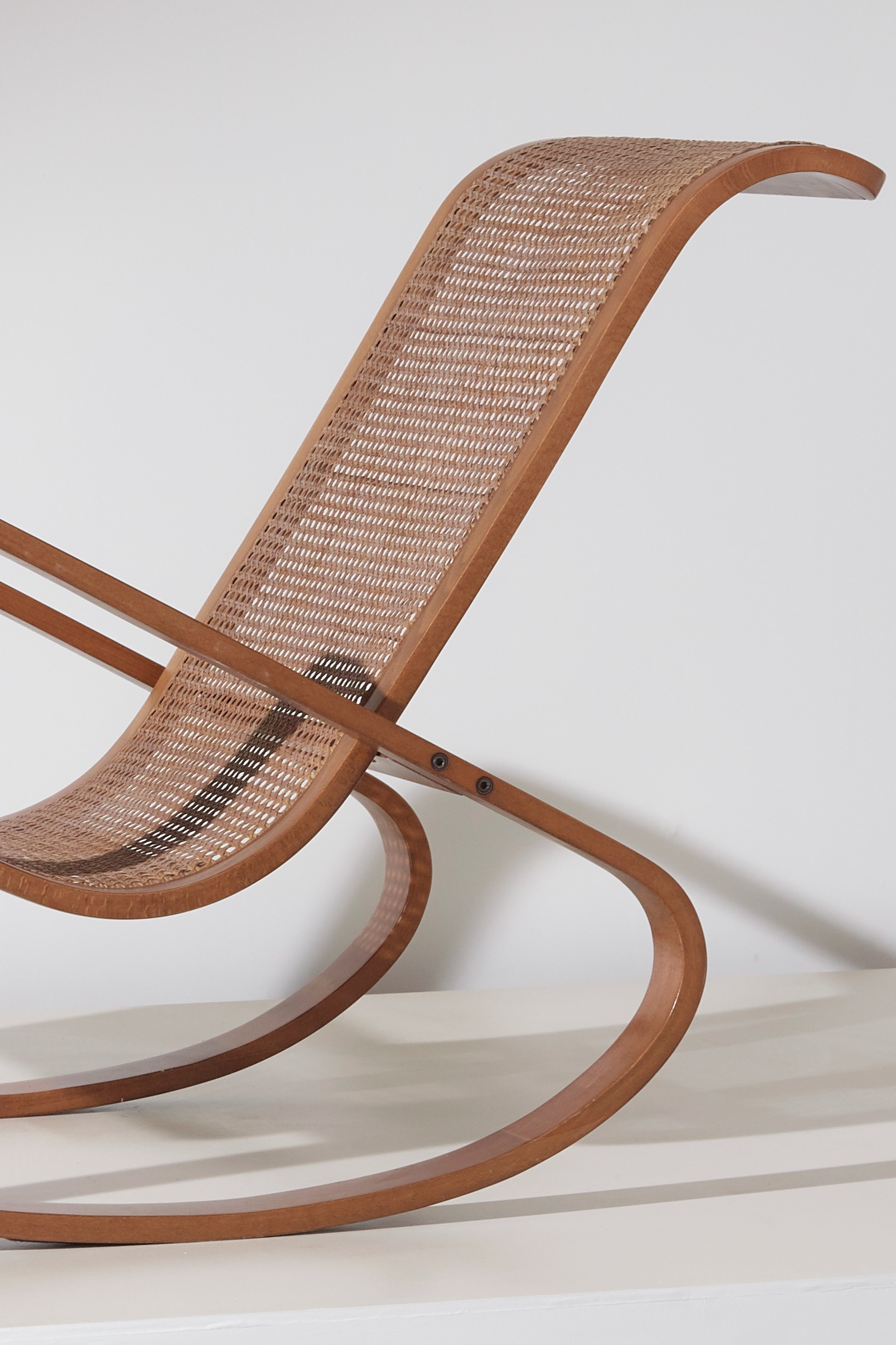 Dondolo rocking chair by Luigi Crassevig 1970s - Front view