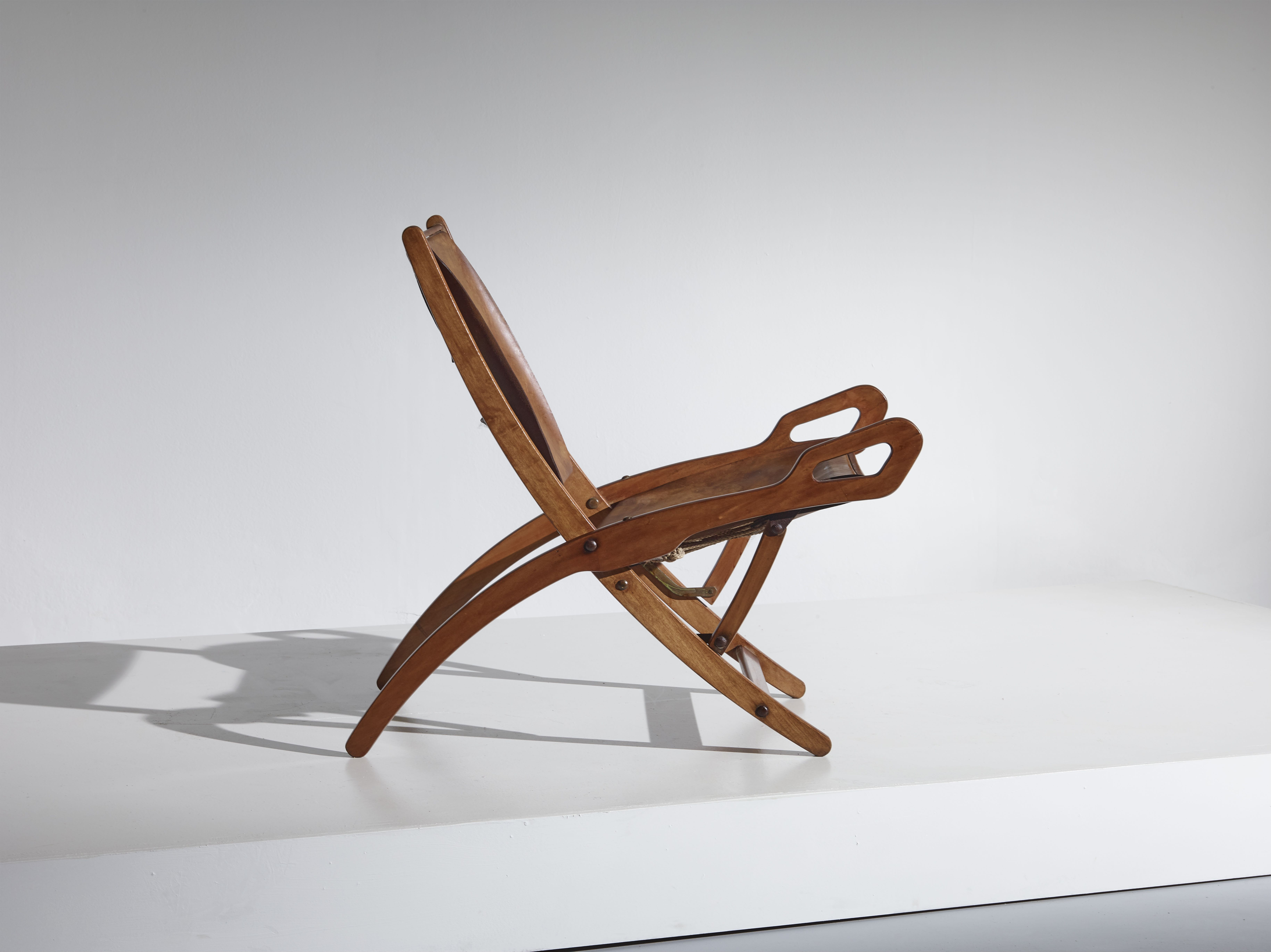 Ninfea folding chair by Gio Ponti for Fratelli Reguitti - Italy 1958