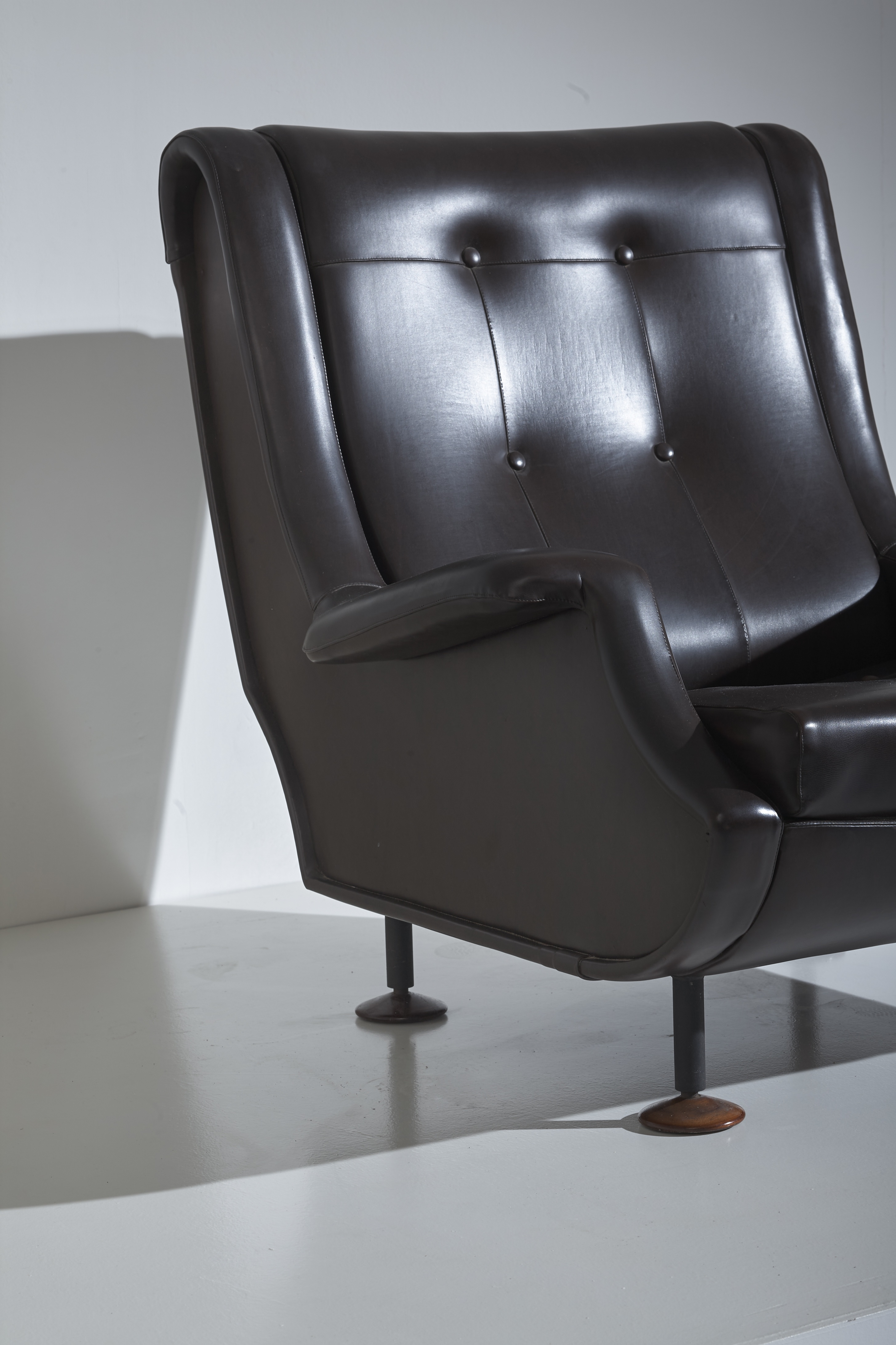 A pair of Regent armchairs by Marco Zanuso for Arflex