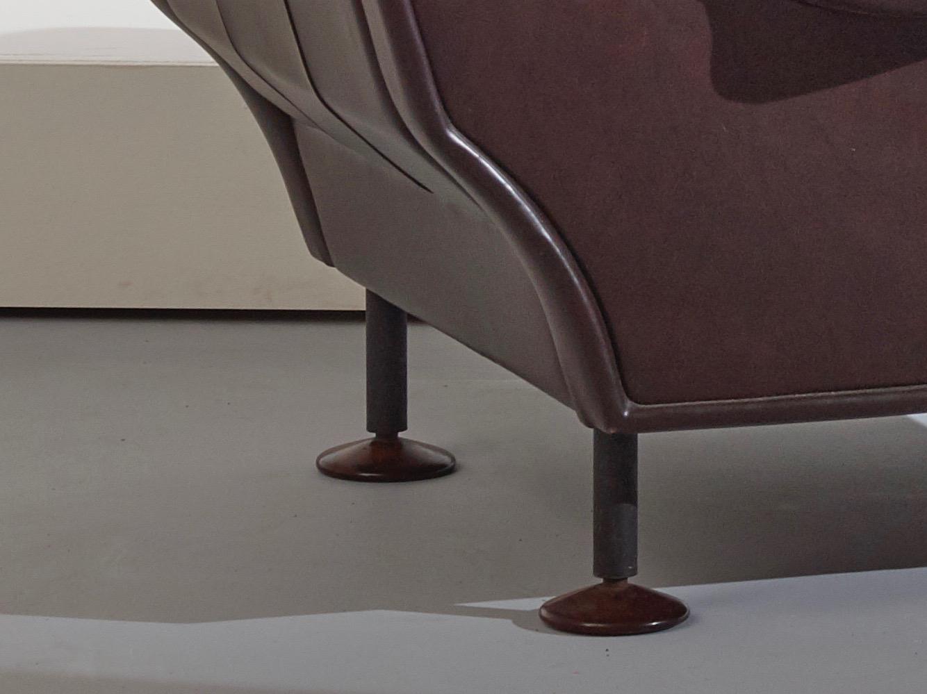 Regent armchairs by Marco Zanuso for Arflex