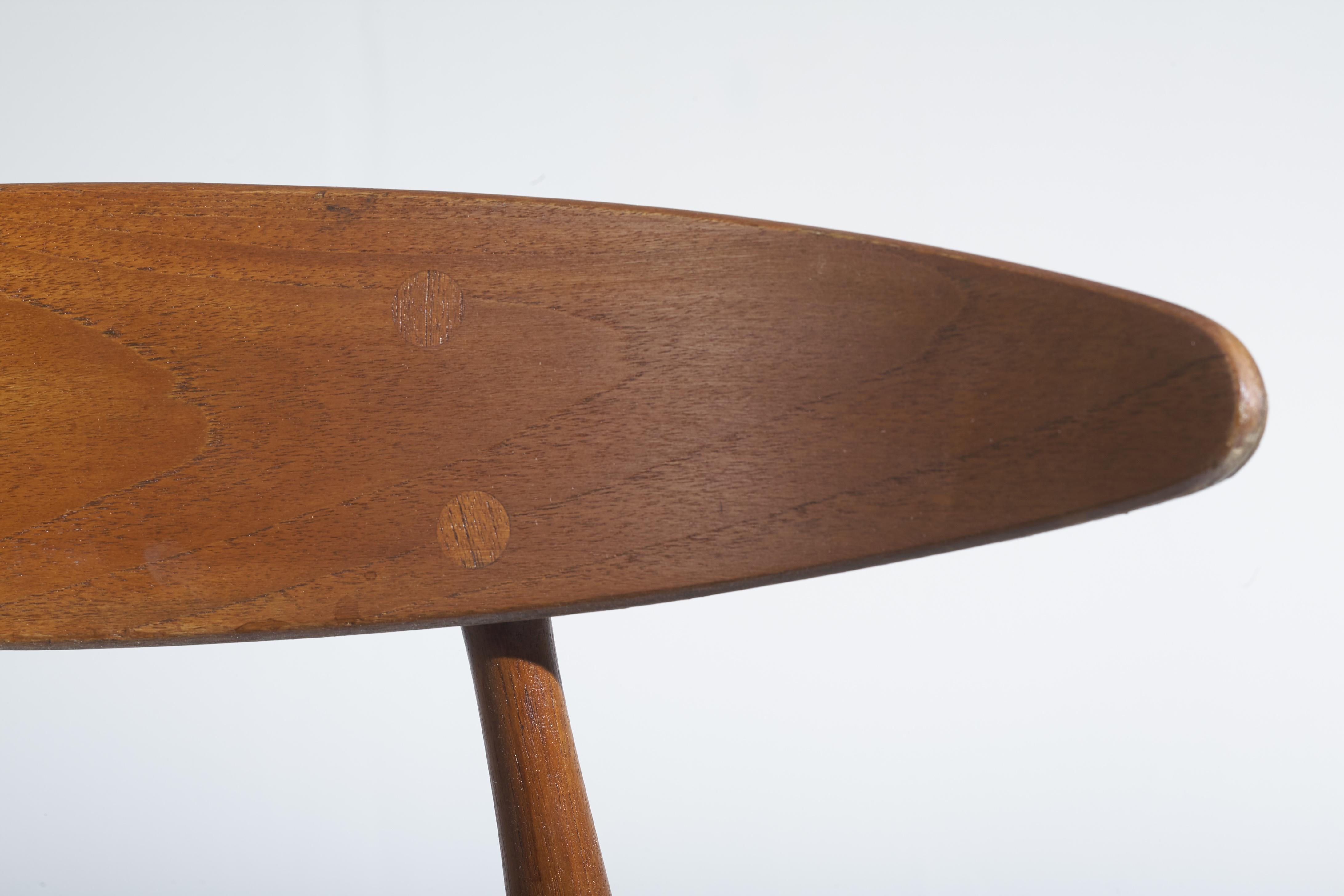 Set of four CH 33 chairs - Hans J. Wegner for Carl Hansen & Son
